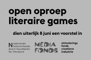 OpenOproepLiteraireGamesLetterenfondsMed