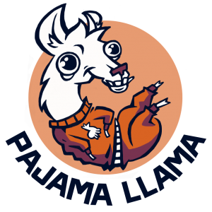 Pajama Llama logo