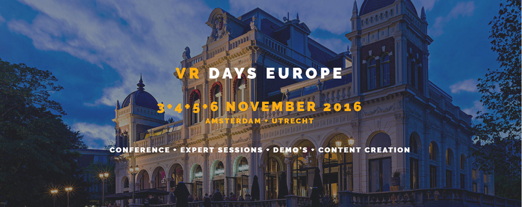 Overview of VR Days Europe