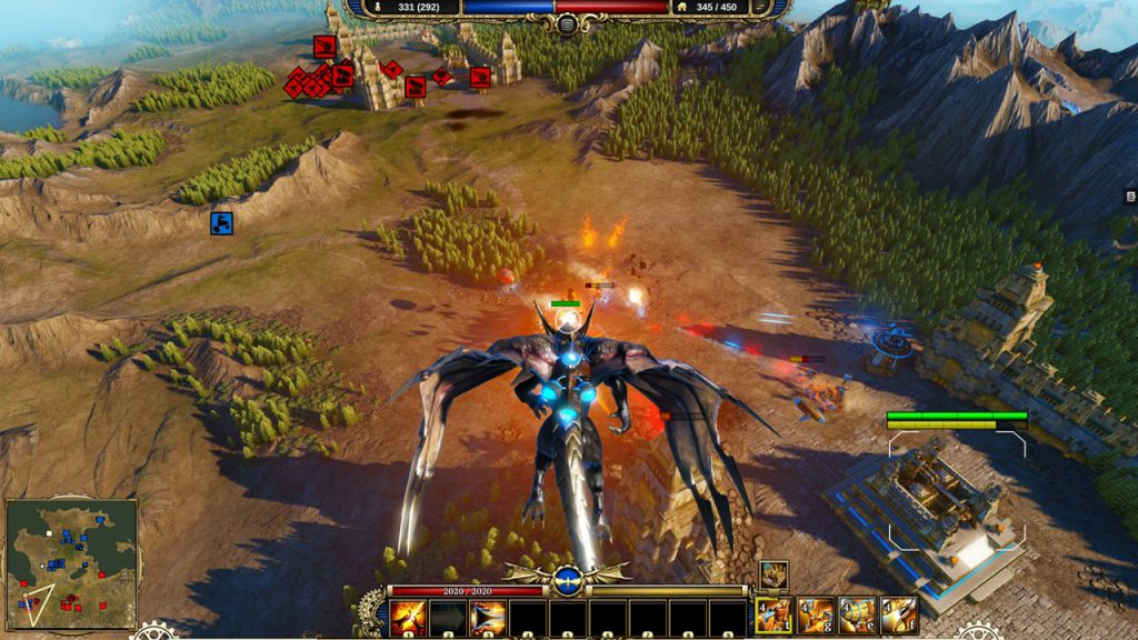 Larian's Dragon Commander was the first game to take advantage of Granite SDK.
